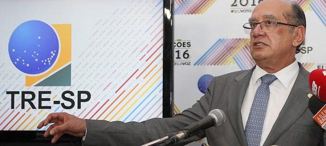 Gilmar Mendes: 147 municípios poderão ter novas eleições, dentre eles Bacabal e Dom Pedro