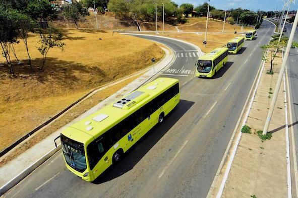 Os novos ônibus climatizados dão um novo clima ao transporte público   em São Luís