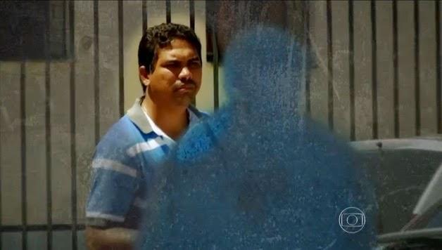 O taxista e laranja Raimundo Nonato em reportagem do Fantástico: delação premiada