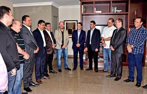 Edivaldo visita a Assembleia e reforça a importância do apoio dos deputados para São Luís