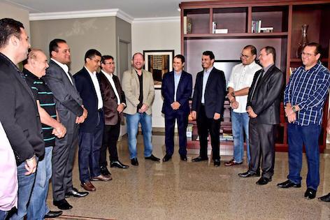 O prefeito Edivaldo Holanda visitou a Assembleia Legislativa para reforçar a importância das parcerias para o desenvolvimento de São Luís