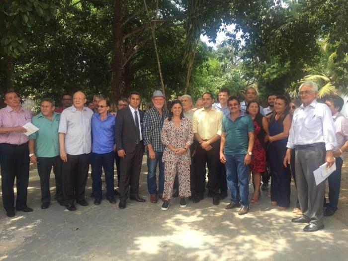 Roseana e alguns prefeitos do PMDB eleitos em 2016