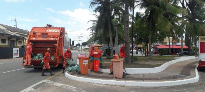 Prefeitura reforça limpeza em corredores da folia