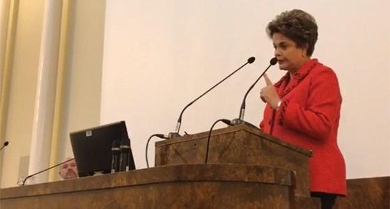 Dilma na Finlândia: Lula estará nas eleições de 2018 vivo ou morto