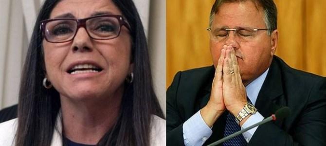 Roseana Sarney apreensiva com notícia de que Geddel está disposto a delatar