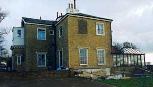 Exterior view of Garrow's Pegwell Villa