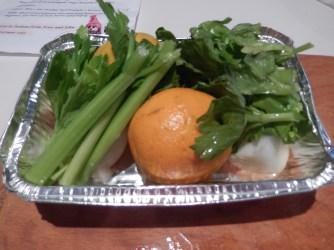Dead Easy: Orange, Onion, Celery
