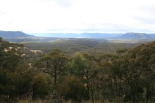 At the Lookout to Capertee Gorge near Ilford (2)