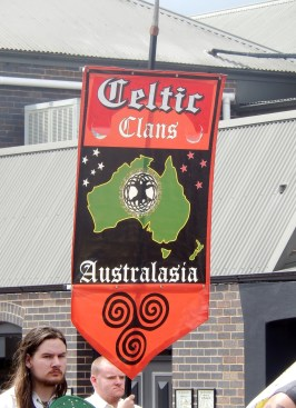 Celtic Clans at Armidale Street Parade March 2014
