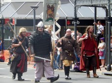 Celts Invading Armidale Street Parade March 2014
