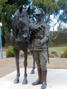 The Waler Light Horse Statue Tamworth