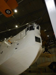 Part of a Sunderland Flying Boat from underneath