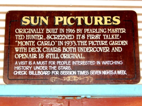 Sun Pictures Broome WA May 2016