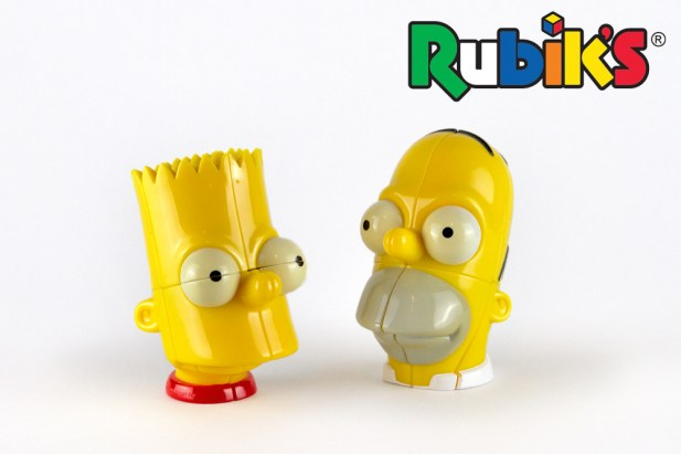 Rubik's Simpson's Heads [Seven Towns Ltd]