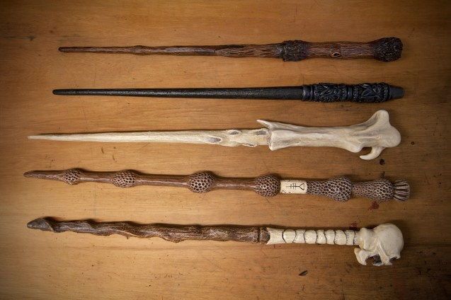 Private commission for replica Harry Potter wands