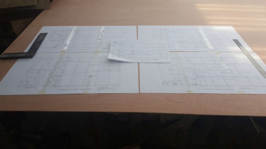 Scale plan pages vs A4 pages