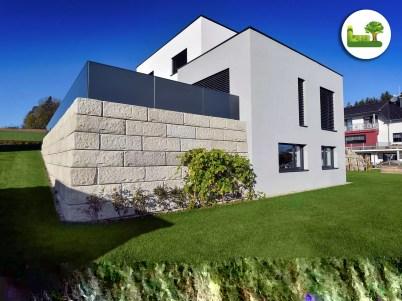 Zaun + Terrasse mit ReCon. gartenleber
