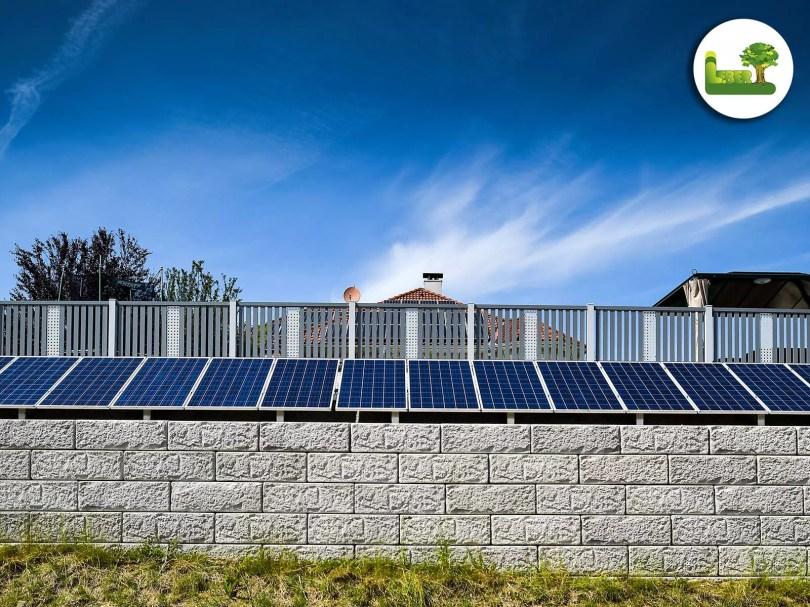 Photovoltaik + Zaun. gartenleber aus Steiermark