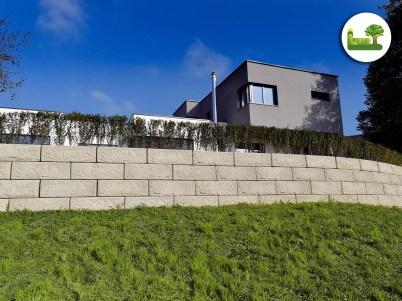 simple Stützmauer - gartenleber