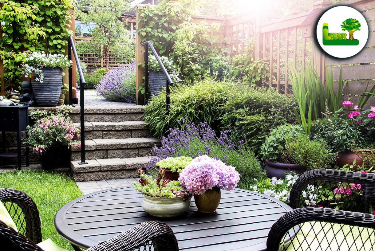 Kleinen Garten gestalten. » Tricks, Ideen und Bilder