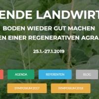 Symposium: Aufbauende Landwirtschaft