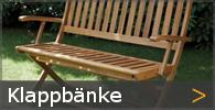 Garten Klappbank Holz Sortiment