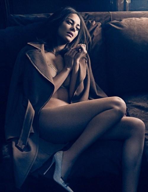 Marion Cotillard by Mikael Jansson