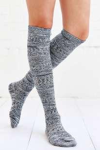 Cozy Marled Knee-High Sock, $14, с шерстью