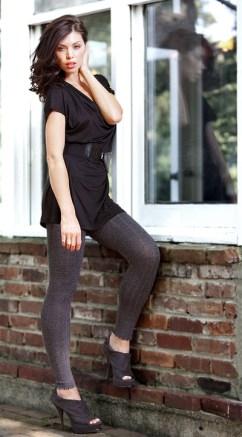 Ruby Soft Merino Wool Ribbed Leggings, обычная цена $44, сейчас $29.99 (45% мериносовая шерсть)
