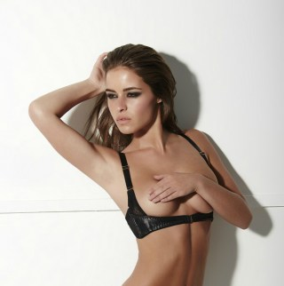 Something Wicked, Montana Leather Harness Bra, £89