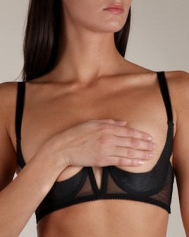 Cadolle, Porno Chic Shelf Bra, $128