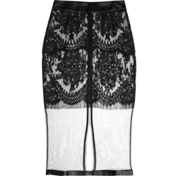 La Perla Freesia lace and tulle half slip, £677