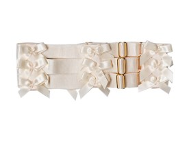 Bordelle, Bow carter in cream, 49 € instead 69 €