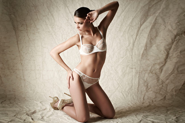 FleurofEnglandAW12_Snow-Queen-lace-cup-balcony-bra-and-brief