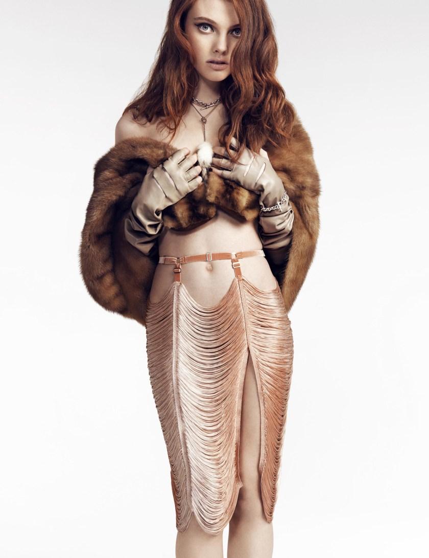 Stringe Fringe Skirt, цена без скидки £189, со скидкой — £99.49