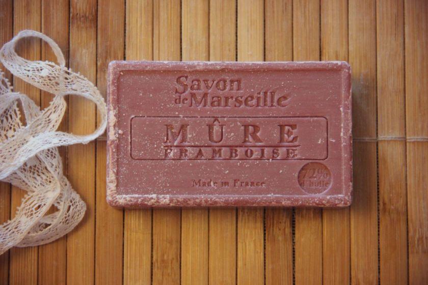Мыло Savon de Marseille Mure Framboise