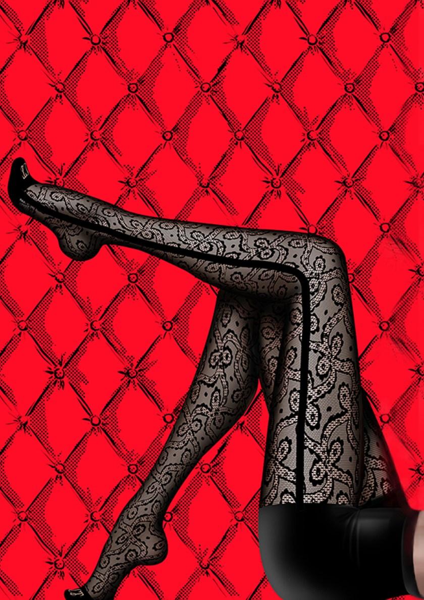 Chantal Thomass Smoking Lace Tights