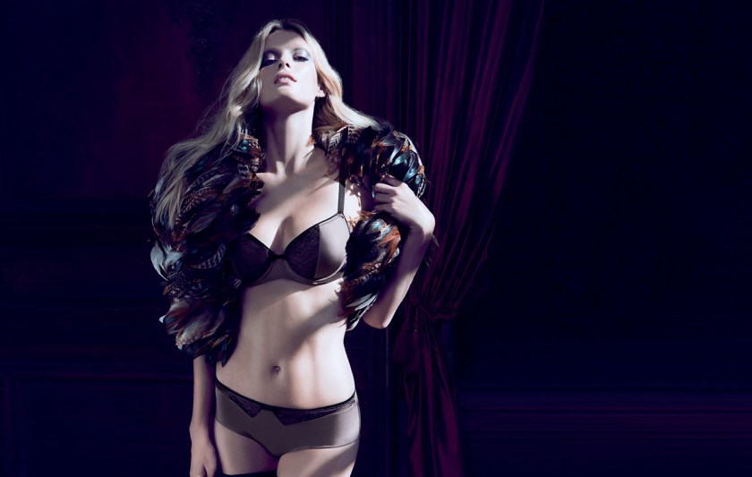 Lou Lingerie, AW15, Chic Dandy