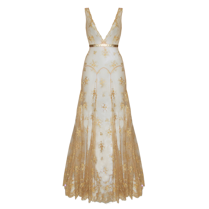 Goddess Boudoir Gown by Loveday London