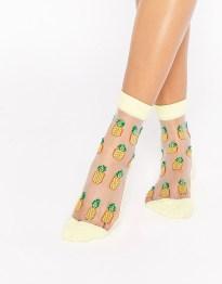 Носки с ананасами ASOS