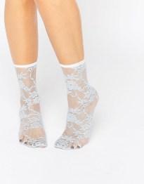 Кружевные носки ASOS