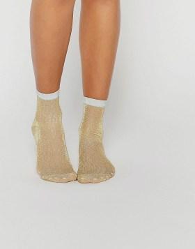 Носки с блестками ASOS