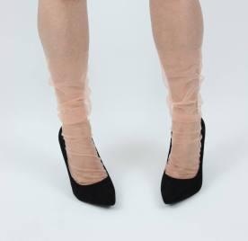 [Найдено на Etsy] Лаконичные яркие носки из тюля Memi & Co