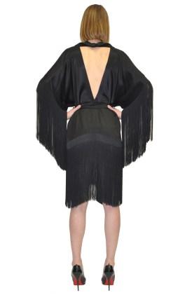 DSTM, коллекция одежды и нижнего беля осень-зима 2017. Fringe Kimono