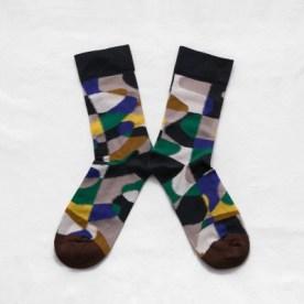 Графичные носки Bonne Maison Multicolored Puzzle socks 13,30€