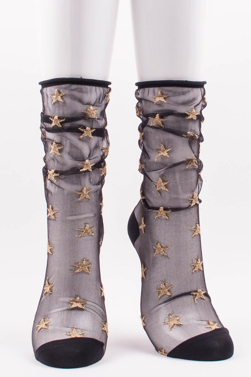 Tabbisocks Clear Star Socks, $22.00