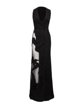 Trace Long Dress