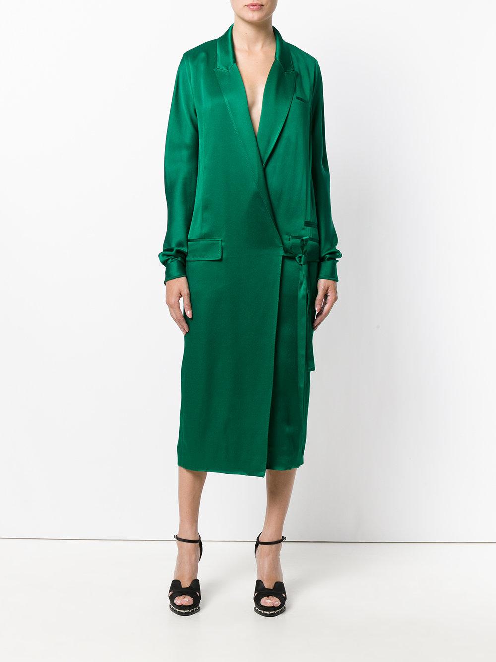 HAIDER ACKERMANN платье с запахом на одну сторону 72 995 ₽   30% скидка 51 097 ₽