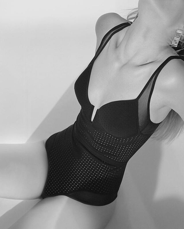 Oopak lingerie perforated couture