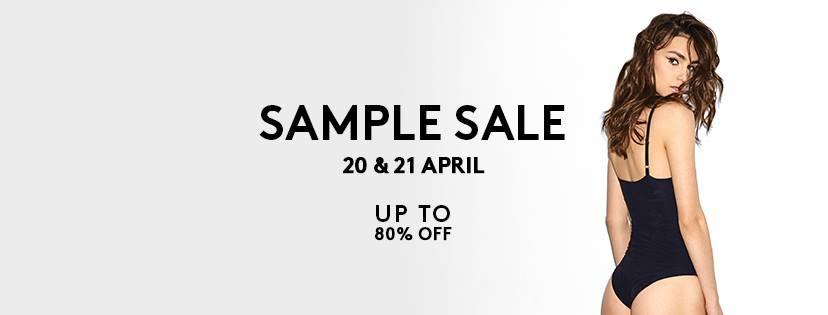 20 и 21 апреля распродажа сэмплов у Murmur